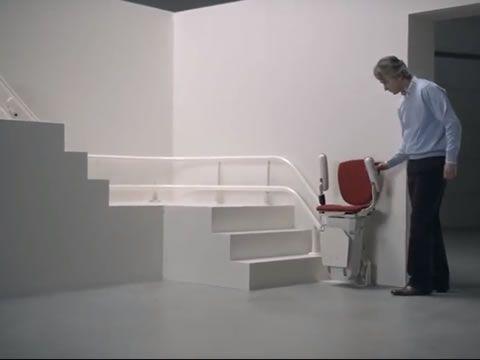 Air Çift Ray Merdiven Asansörü